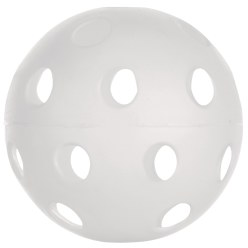 Floorball Competition Ball White
