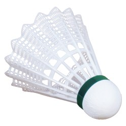 "Victor® ""Shuttle 1000"" Badminton Shuttles Blue, medium, white"