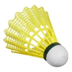 "Victor ""Shuttle 2000"" Badminton Shuttles Green/yellow, slow"