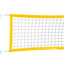 Beach Volleyball Tournament Net, for 16x8-m Court