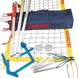 "SunVolley® ""Plus"" Beach Volleyball Set"