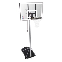"Spalding ""NBA Silver Portable"" Basketball Unit"