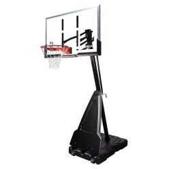 "Spalding® Basketballanlage ""NBA Platinum Helix Lift Portable"""
