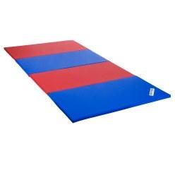 Sport-Thieme® Faltmatte 240x120x3 cm, Blau-Gelb-Grün-Rot