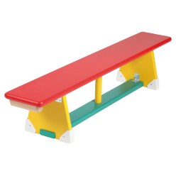 Multicoloured Gymnastics Bench