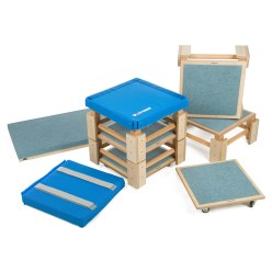 Sport-Thieme® Kombi-Turnhocker Set II