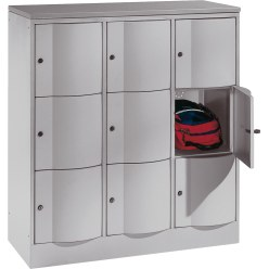 """S 5000 Resisto"" Unit with 9 Lockers"