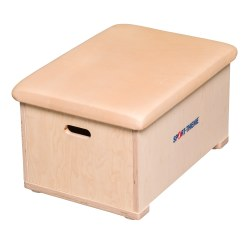 "Sport-Thieme® ""Multiplex"" 1-Part Vaulting Box With imitation leather cover"