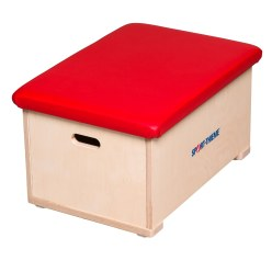 "Sport-Thieme® ""Multiplex"" 1-Part Vaulting Box With leather cover"