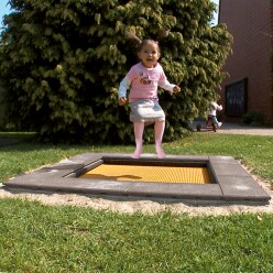 "Eurotramp Kids-Bodentrampolin ""Kindergarten Mini"""