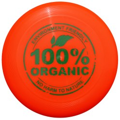 Bioplastic Throwing Disc