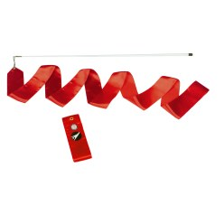 Sport-Thieme® Competition Gymnastics Ribbon Red, Competition, 6 m long