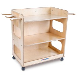 Sport-Thieme® Storage Trolley Trolley without contents