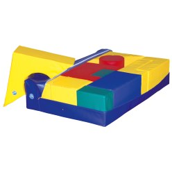 Soft Mat Cover for Giant Building Blocks