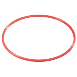 Sport-Thieme® Gymnastikring af Kunststof Rød, ø 80 cm