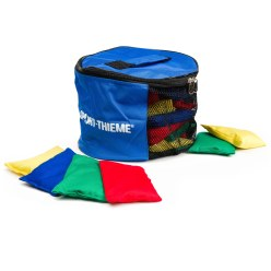 Sport-Thieme® Set of Small Beanbags with Bag Plastic granule filling, washable