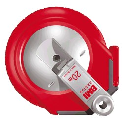 BMI Single-Sided Fibreglass Measuring Tape 50 m, Frame