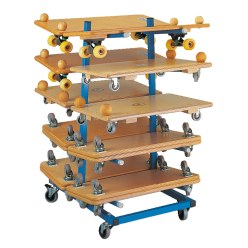 Sport-Thieme Roller Board Storage Trolley