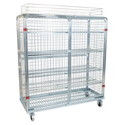 Shelved Trolley