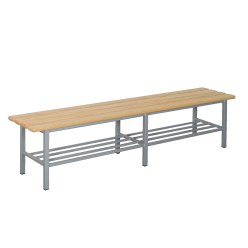 "Sport-Thieme Changing Room Bench ""Style A"" Without shoe shelf"