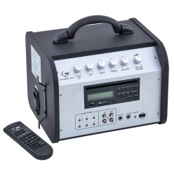 "TLS® ""VoiceMaker"" Combi MP3-CD/USB Sound System"
