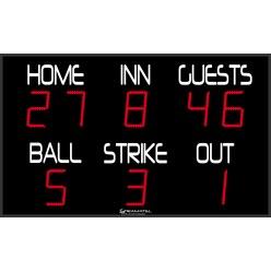 "Stramatel® ""FBB"" Baseball Scoreboard"