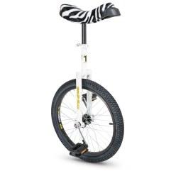 """Qu-Ax """"Luxus"""" Zebra Ethjulet Cykel"""