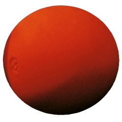 Bossel Ball ø 7.5 cm, 600 g, red