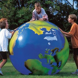 Togu® Globe with Continent Imprint