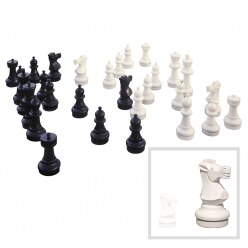 Floor Chess Pieces