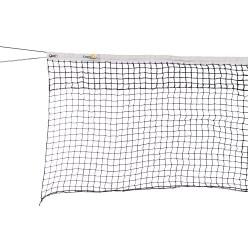 Tennisnetz Doppelreihe mit Spannseil unten 2. Wahl