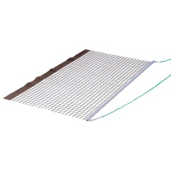 Aluminium PVC Tennis Single Drag Net