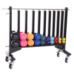 Sport-Thieme® Mobile Storage Stand for Gym Weights