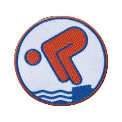 Jugend-Schwimmabzeichen Bronze, Zum Aufnähen, quadratisch von Rolle
