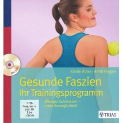 """Buch """"Gesunde Faszien"""" inkl. DVD"""