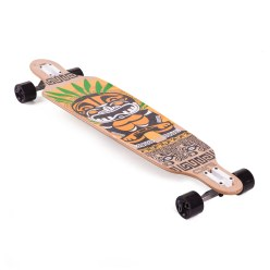 "Longboard Drop Shape Design ""Tiki"""