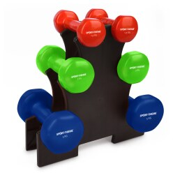 Sport-Thieme® Vinyl Dumbbell Set