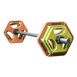 Hot Iron® Barbell Set Premium PU SGR