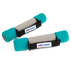 Sport-Thieme Aerobics Dumbbells 1 kg, red