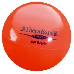 "TheraBand Gewichtsball ""Soft Weight"" 1,5 kg, Rot"