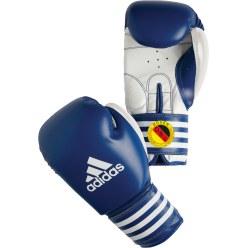 """Adidas® Wettkampf-Boxhandschuh """"Ultima Rigid Cuff"""" Blau, 12 oz"""