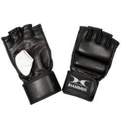 Hammer Boxing Gloves with Open Fingers S/M