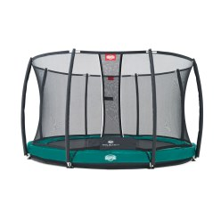 "Berg® Trampolin InGround ""Elite+"" mit Sicherheitsnetz"