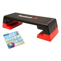 Reebok® Step Aerobic stepper with CD