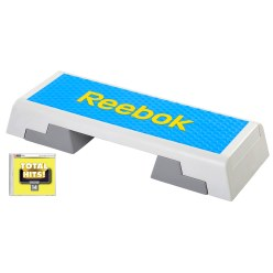 "Reebok® Step mit CD ""Total Hits"""