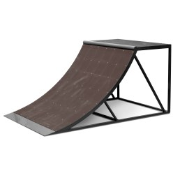 Mobile Quarter Pipe