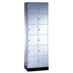 """S 4000 Intro"" Compartment Locker (6 compartments on top of one another)"