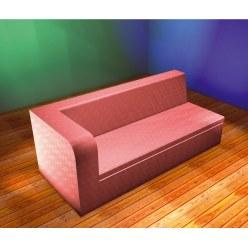 3 personers Sofa med armlæn i venstre side
