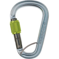 "Edelrid® ""Bruce Steel FG"" Pear-Shaped Carabiner"