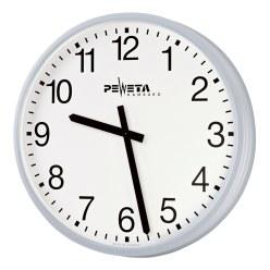 Peweta® Großraum-Wanduhr ø 42 cm, Netzbetrieb